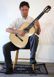 Guitar perfect posture